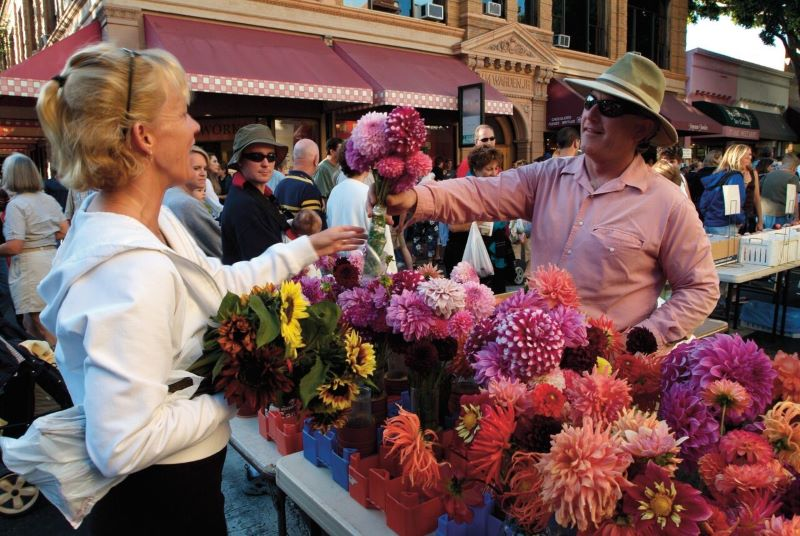 San Luis Obispo Flower Market - 8 of California's Most Flavorful Cities