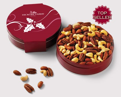 Gourmet nuts from Hickory Farms.