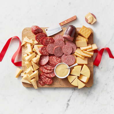 Classic Bites & Board Gift Set and Cheese Favorites & Board Gift Box - Spread