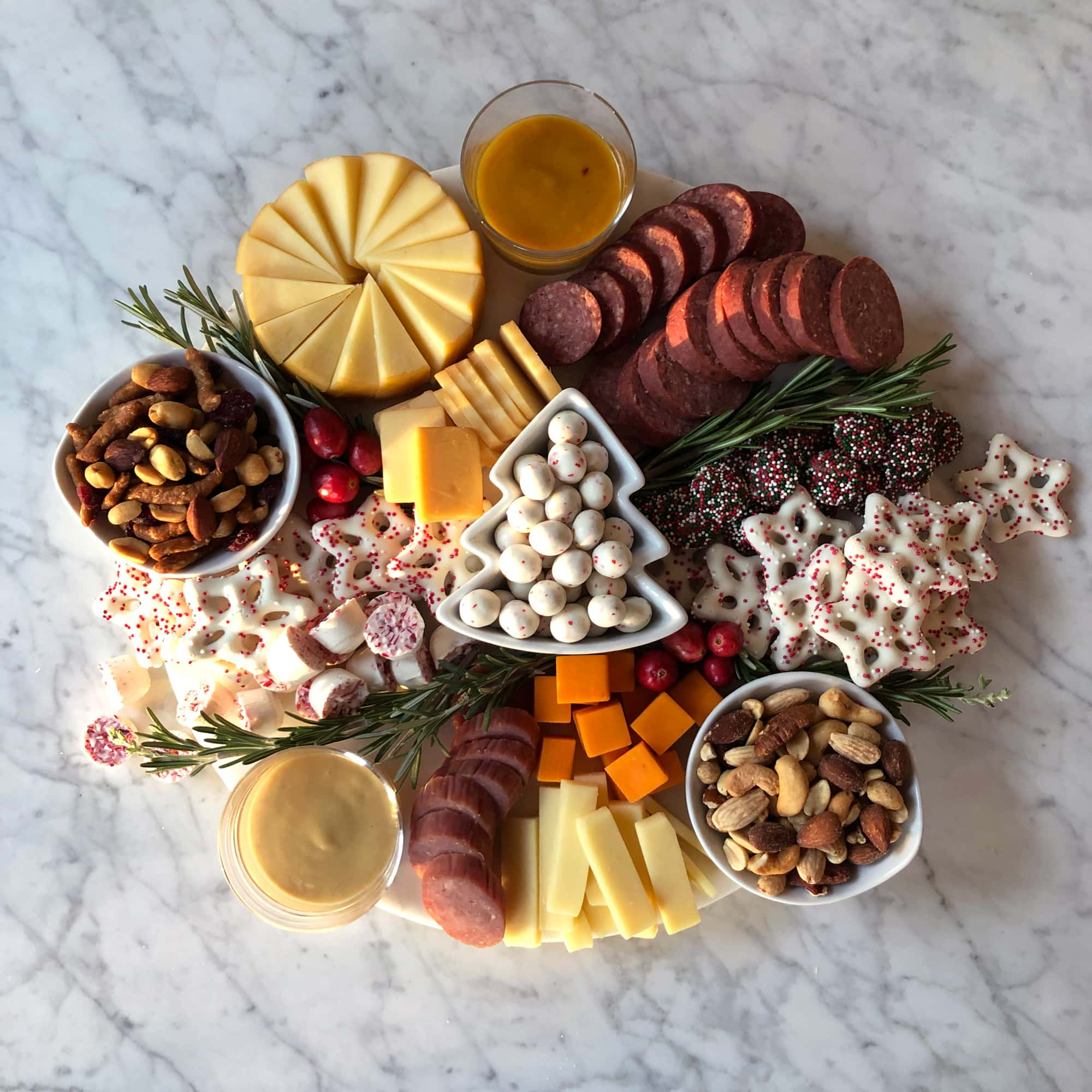 Holiday Charcuterie Board
