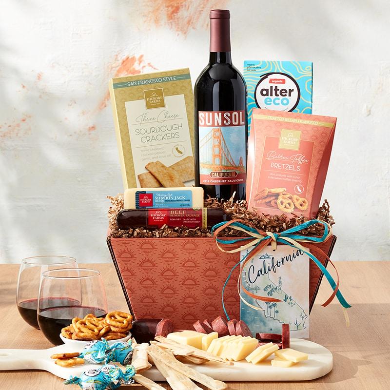 Taste of California Gift Ideas - California Cabernet Wine Gift Set