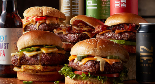 Guide: Pairing Beer with Burgers, Brats & Sliders Blog Image