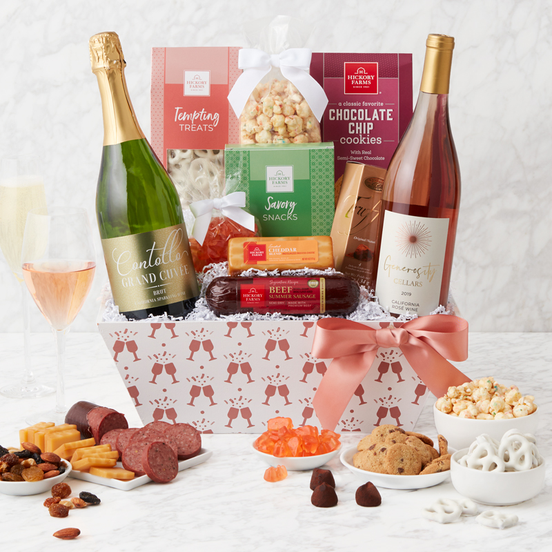 Cheers to You Wine Gift Basket