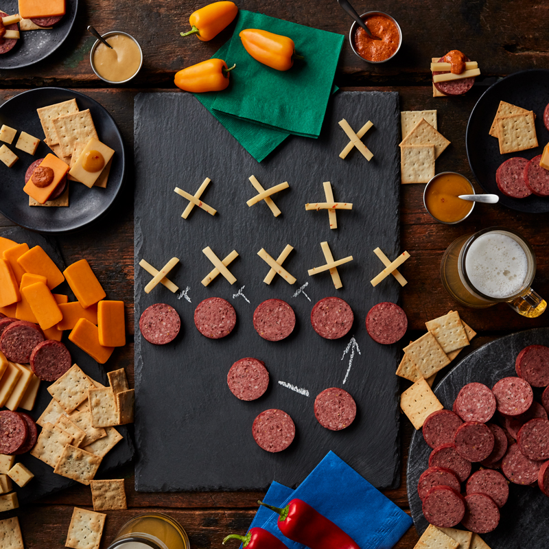 Ultimate Game Day Watch Party - Football Charcuterie
