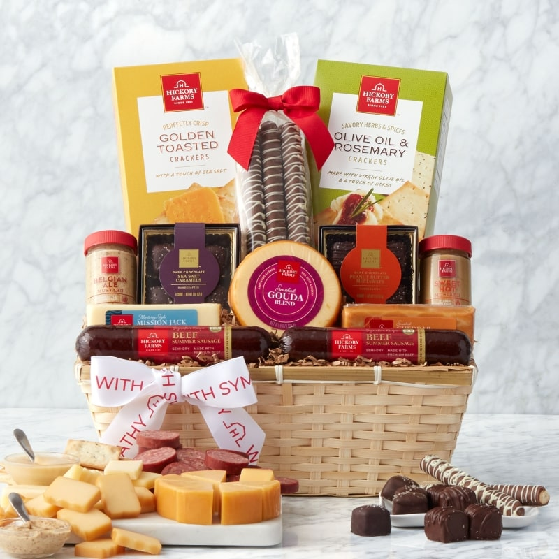 Sympathy Favorite Flavors Gift Basket