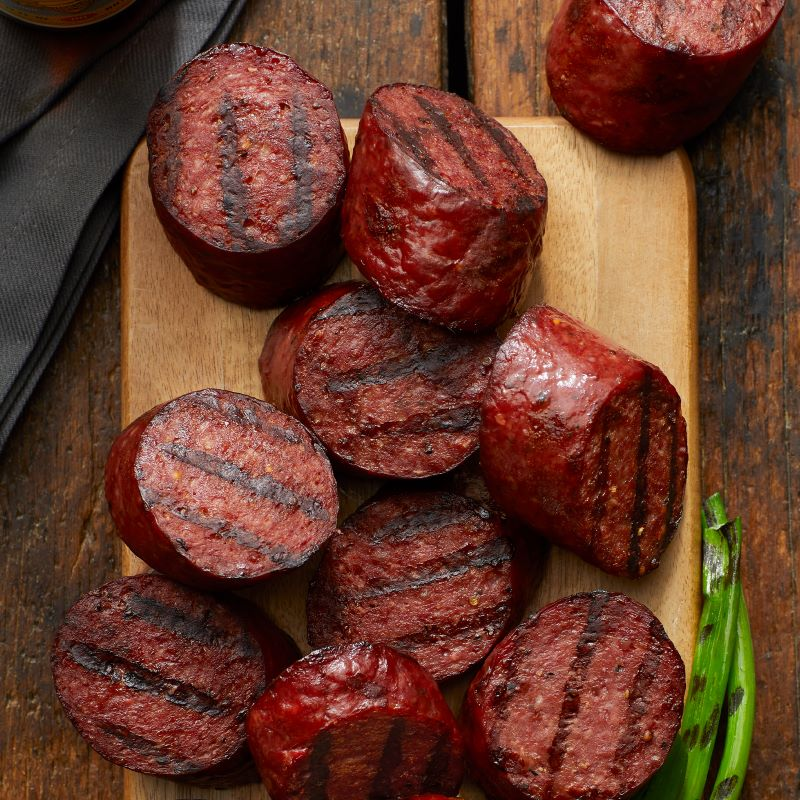 Ultimate Game Day Watch Party - Grilled Summer Sausage