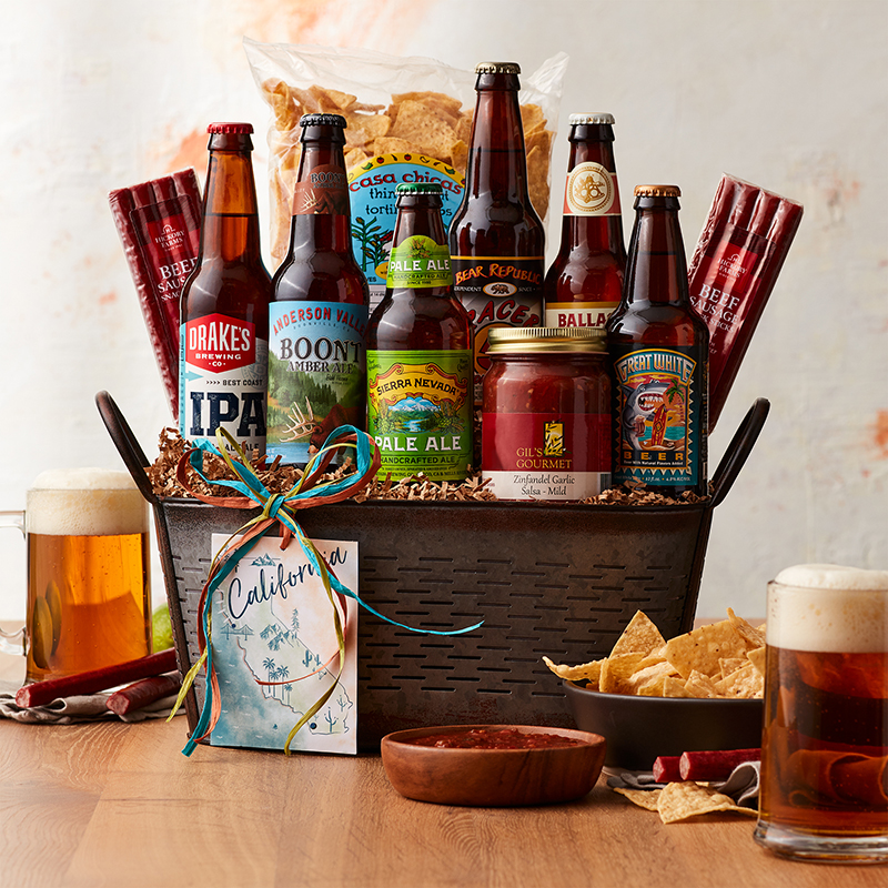 California Craft Beer Gift Basket