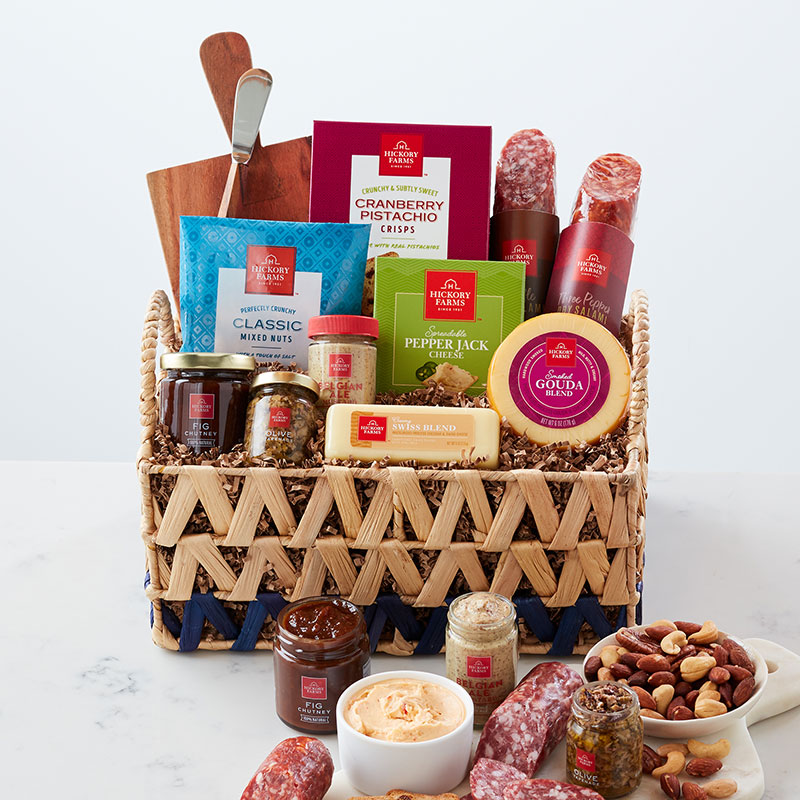 Charcuterie Essentials Gift Basket