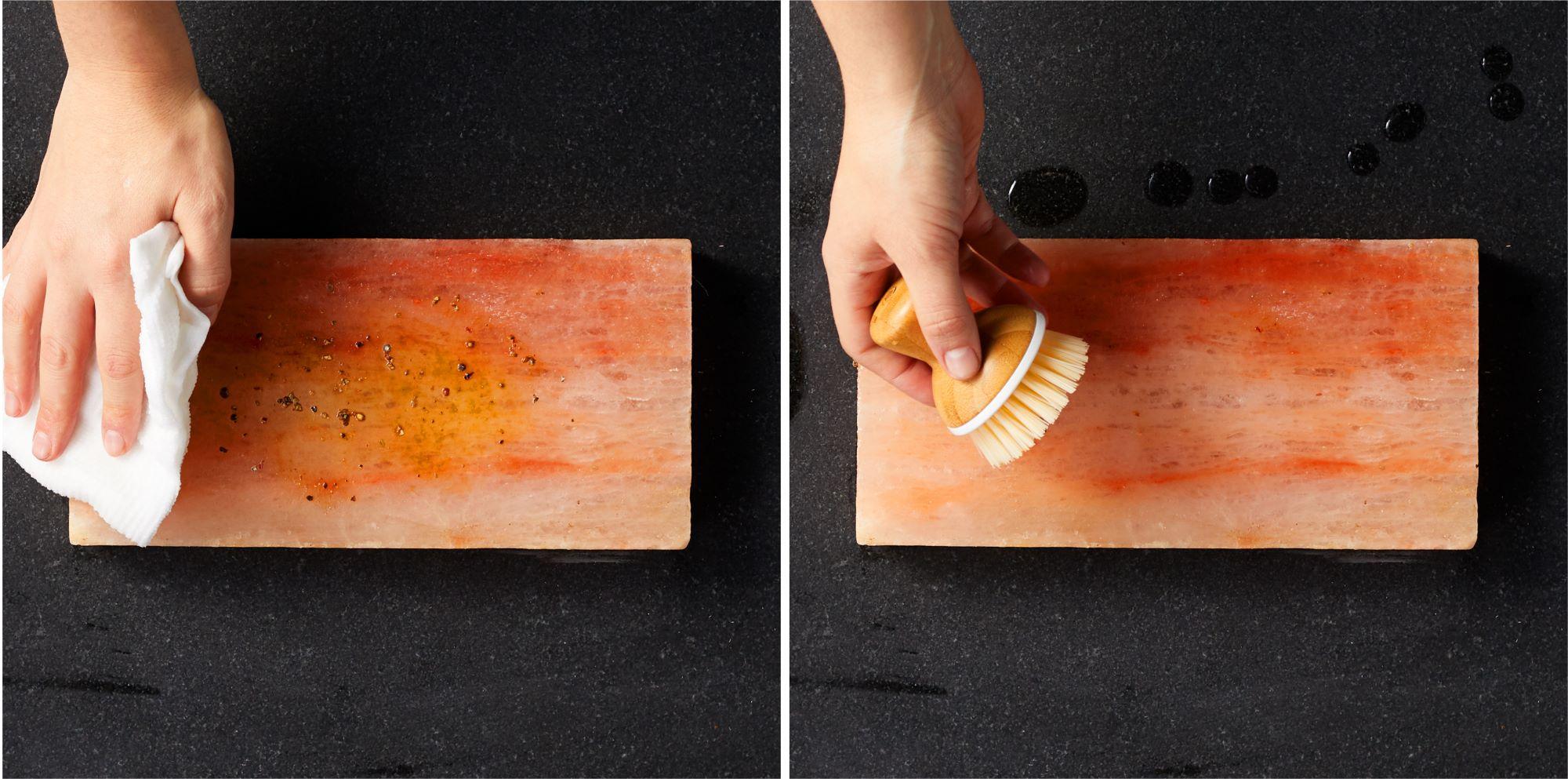 Salt Block oil and scrub
