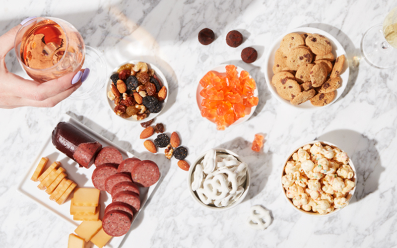 Life's Giftable Moments Guide Header Image - Charcuterie Spread