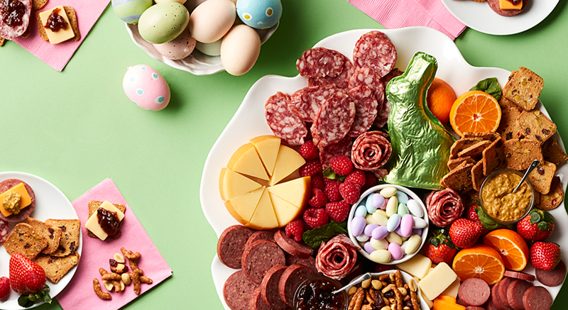 Easter Gift Ideas Candy Spread