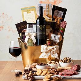 california vip wine gift basket