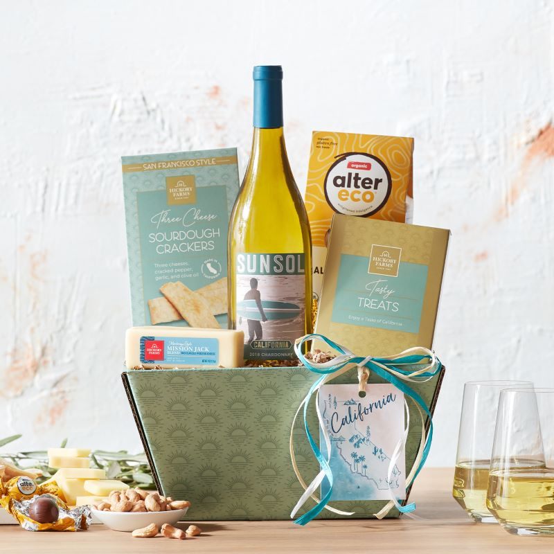 Guide to Holiday Business Gift Ideas - California Chardonnay Wine Gift Set