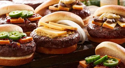 Summer burger bar ideas