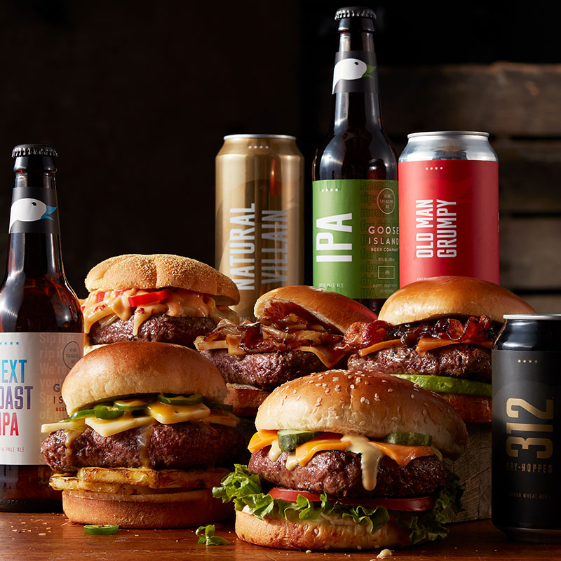 Ultimate Game Day Watch Party - Burger Pairing