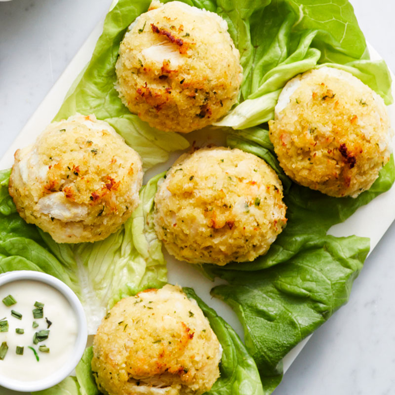 Hickory Farms Steakhouse Prep Guide - Crab Cakes