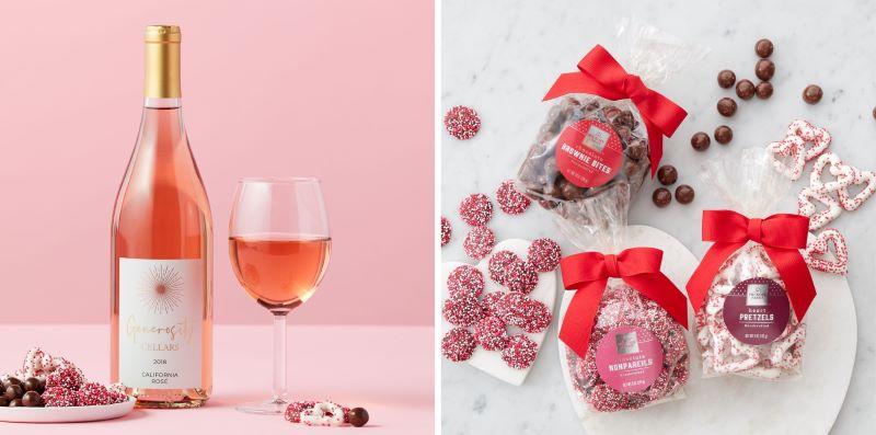 Valentine's Genoristy Cellars California Rose 2018 and Itty Bitty Valentine's Flight
