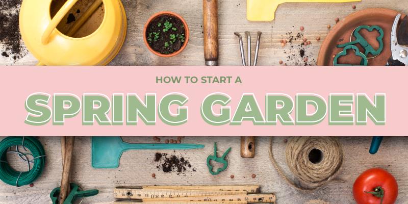 Gardening Blog Header Image