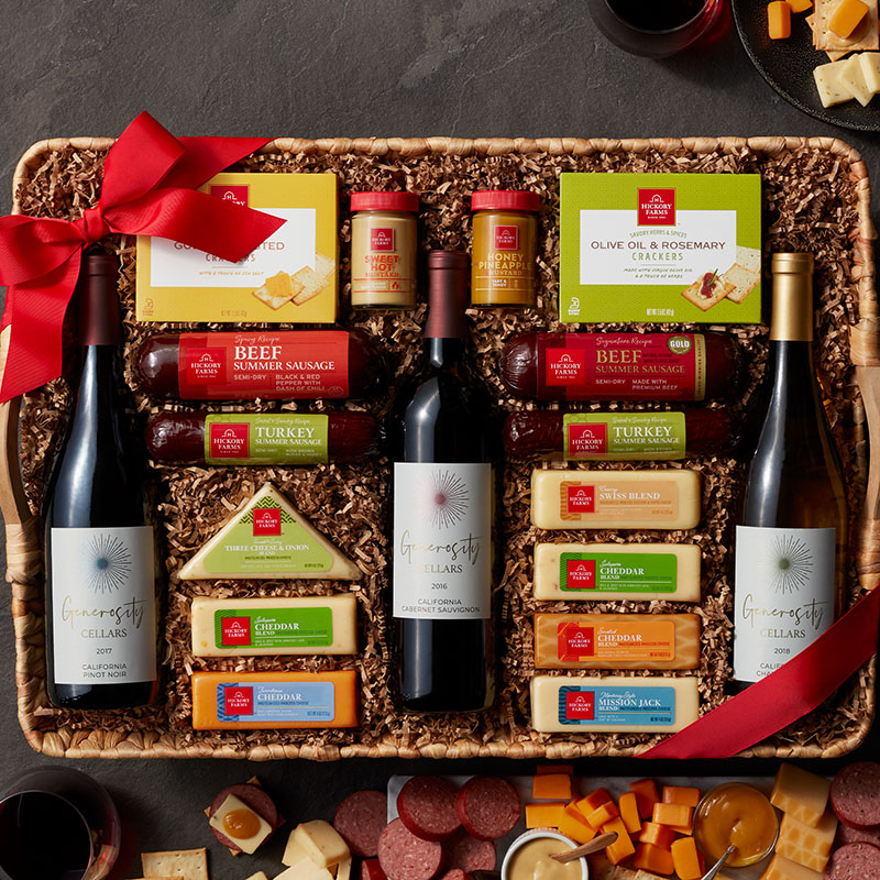 Grand Wine Party Gift Basket