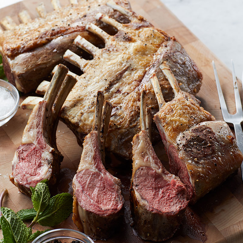 Hickory Farms Steakhouse Prep Guide - Rack of Lamb