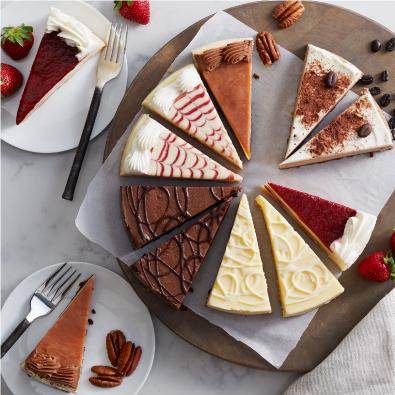 Gourmet Cheesecake Sampler