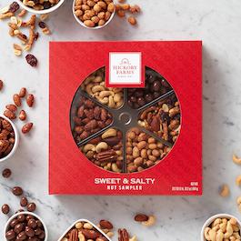 sweet salty nut sampler
