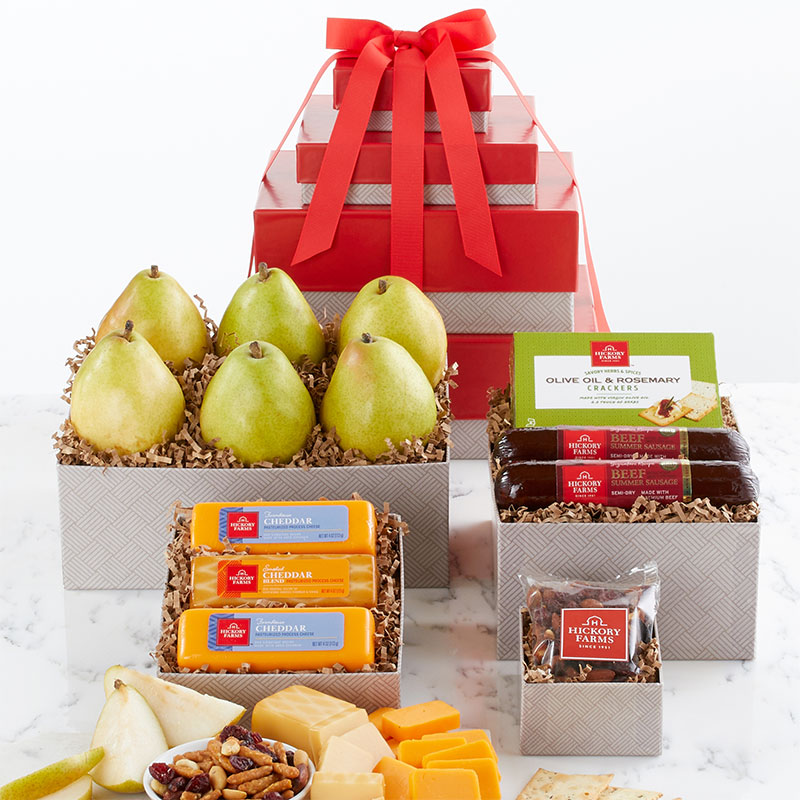 Fruit & Snack Gift Tower