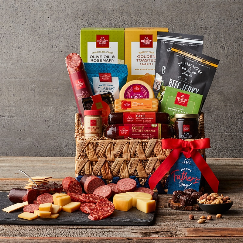 Deluxe Father's Day Gift Basket
