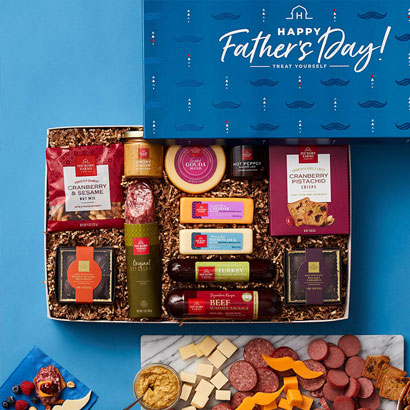 Father's Day Summer Sausage & Cheese Gift Box