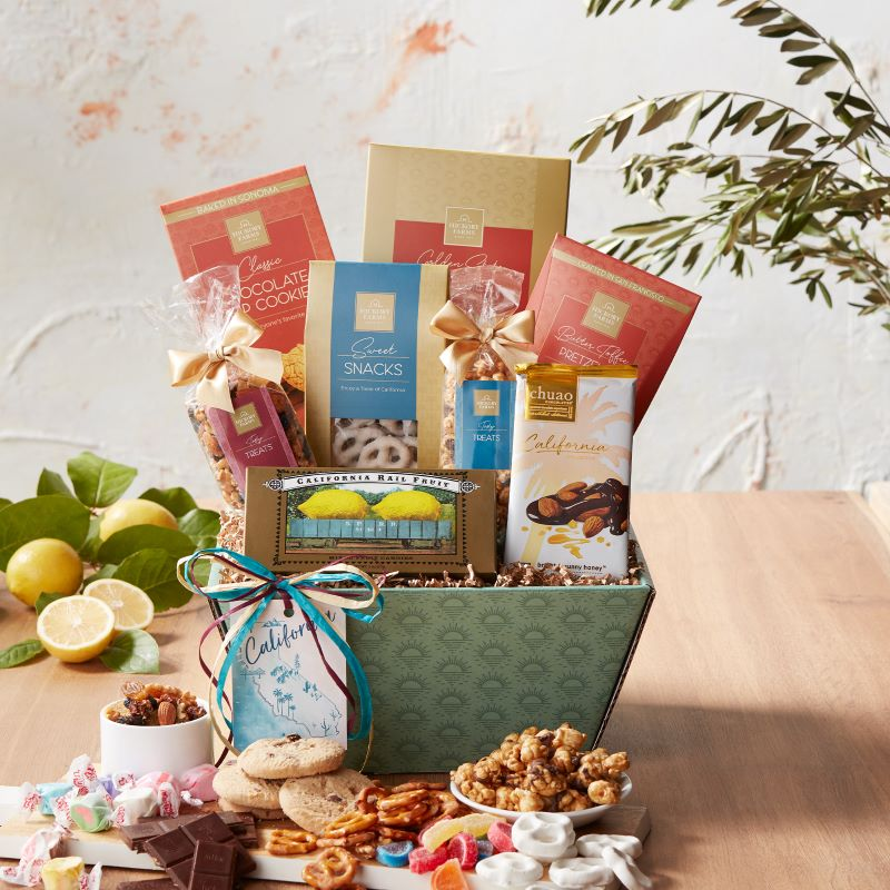 Guide to Holiday Business Gift Ideas - California Signature Snack Sampler