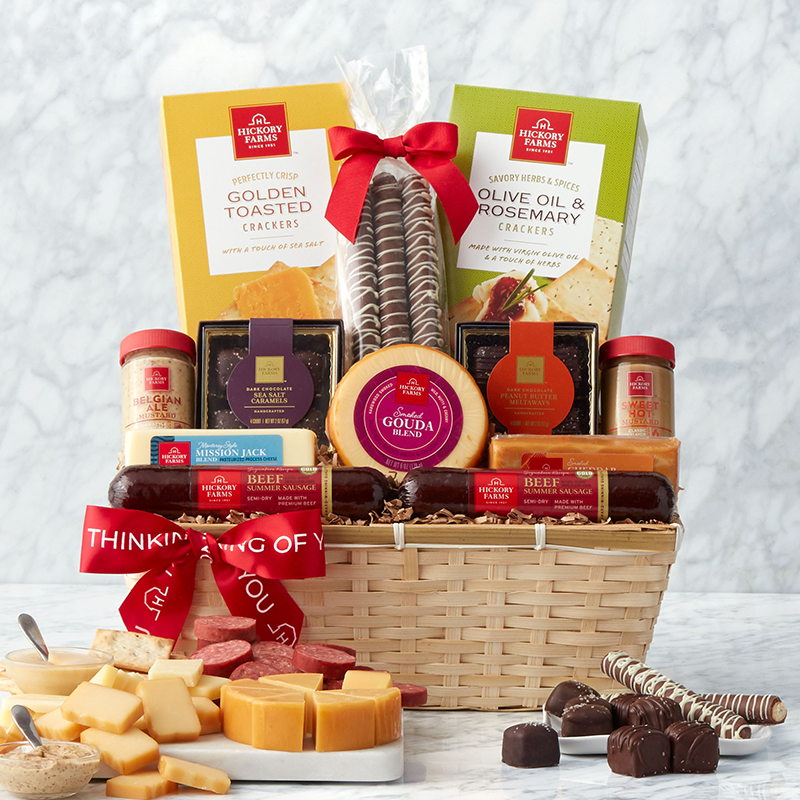 Thinking of You Favorite Flavors Gift Basket