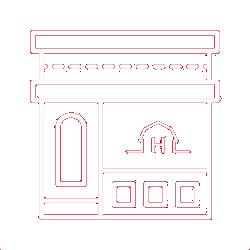 Retail storefront icon