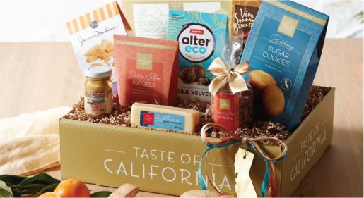 Taste of California Gift Ideas Blog Image