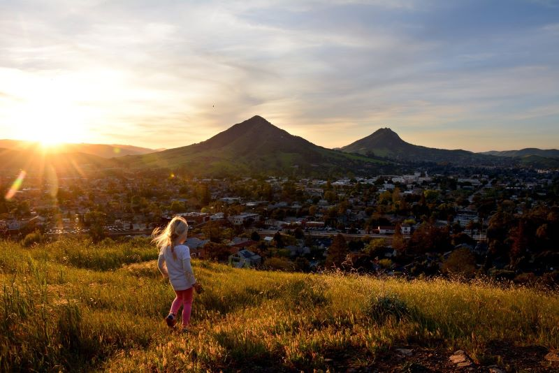 San Luis Obispo City Overlook - 8 of California's Most Flavorful Cities