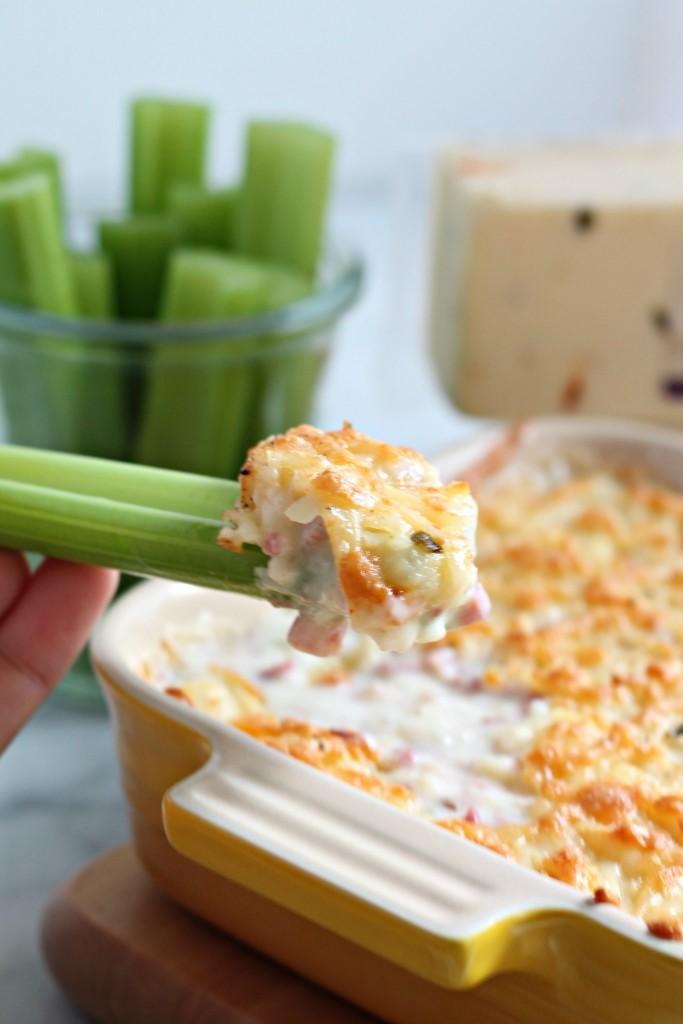 Hot Ham & Cheese Dip recipe