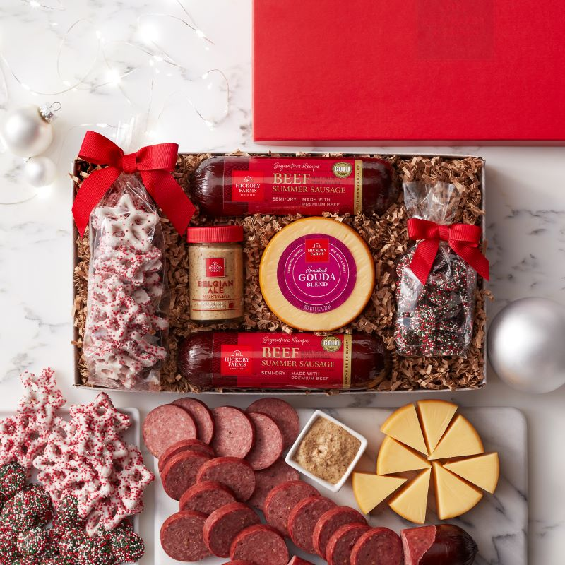 Guide to Holiday Business Gift Ideas - Happy Holiday Flavors Gift Box