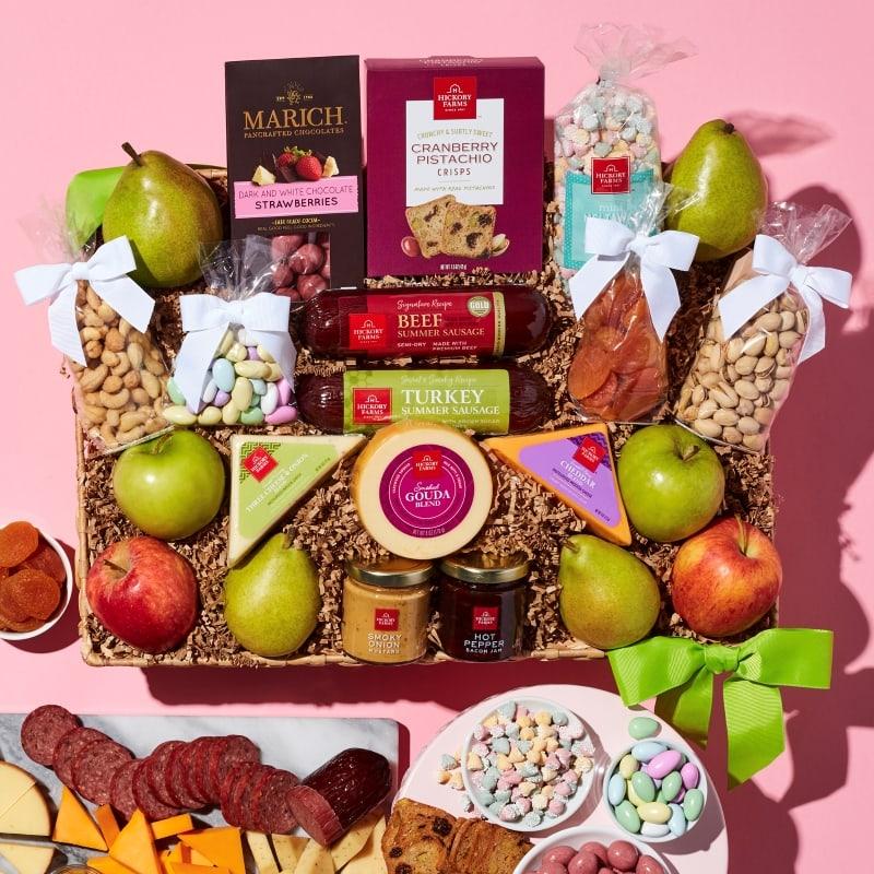 Spring Grand Fruit & Snack Gift Basket