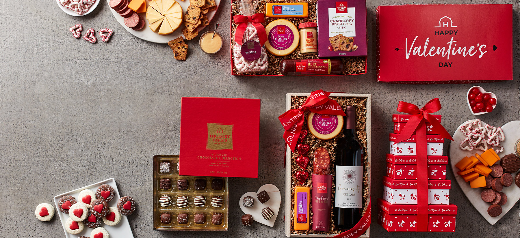 Hickory Farms Gift Baskets Specialty Gourmet Products