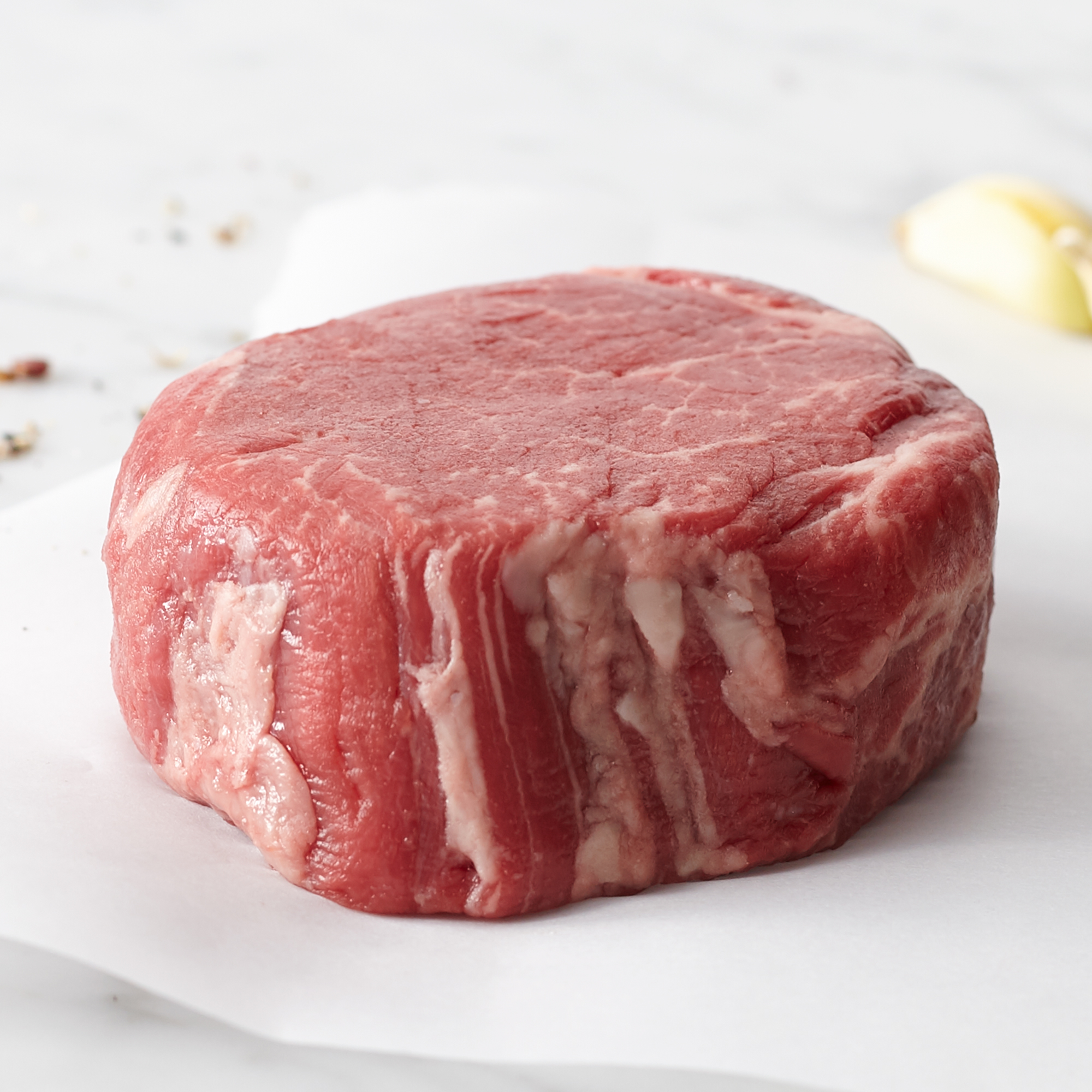 6 Prime 6 oz. Boneless Filets. Ships frozen & raw