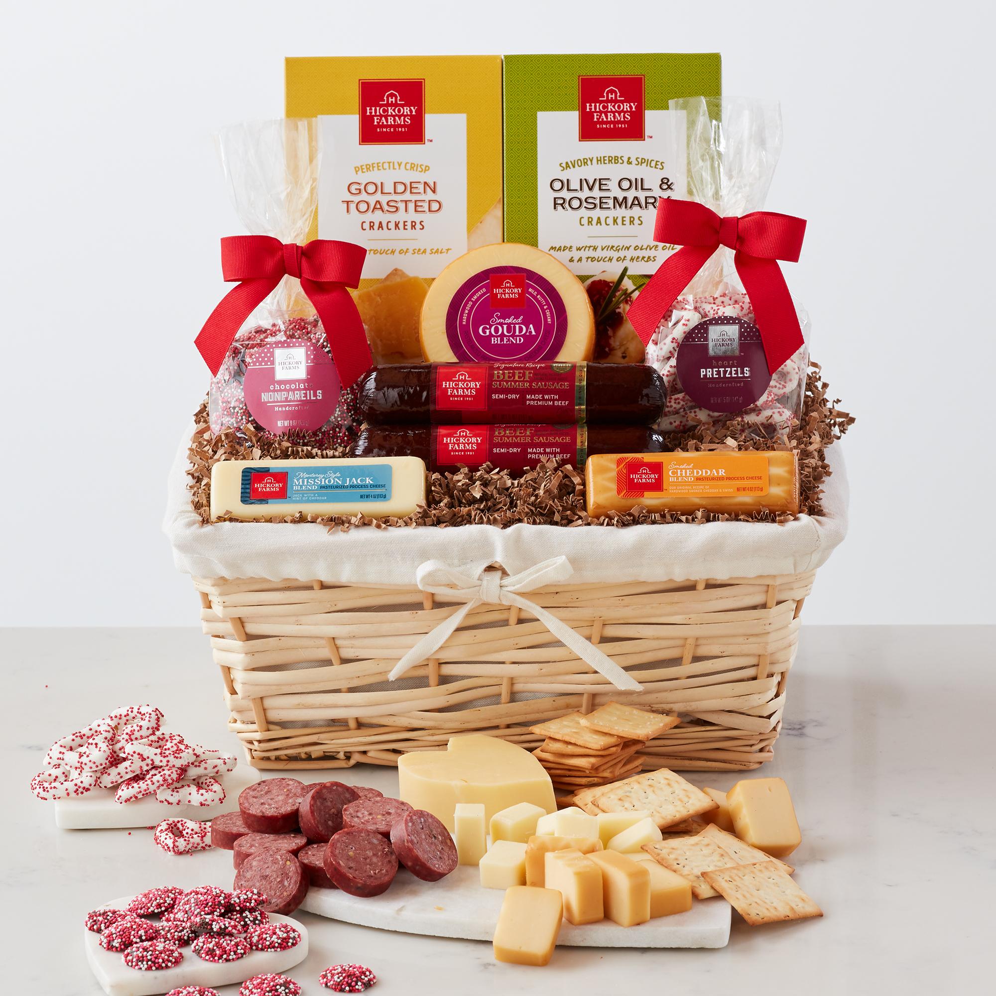 Happy Valentine's Day Gift Basket