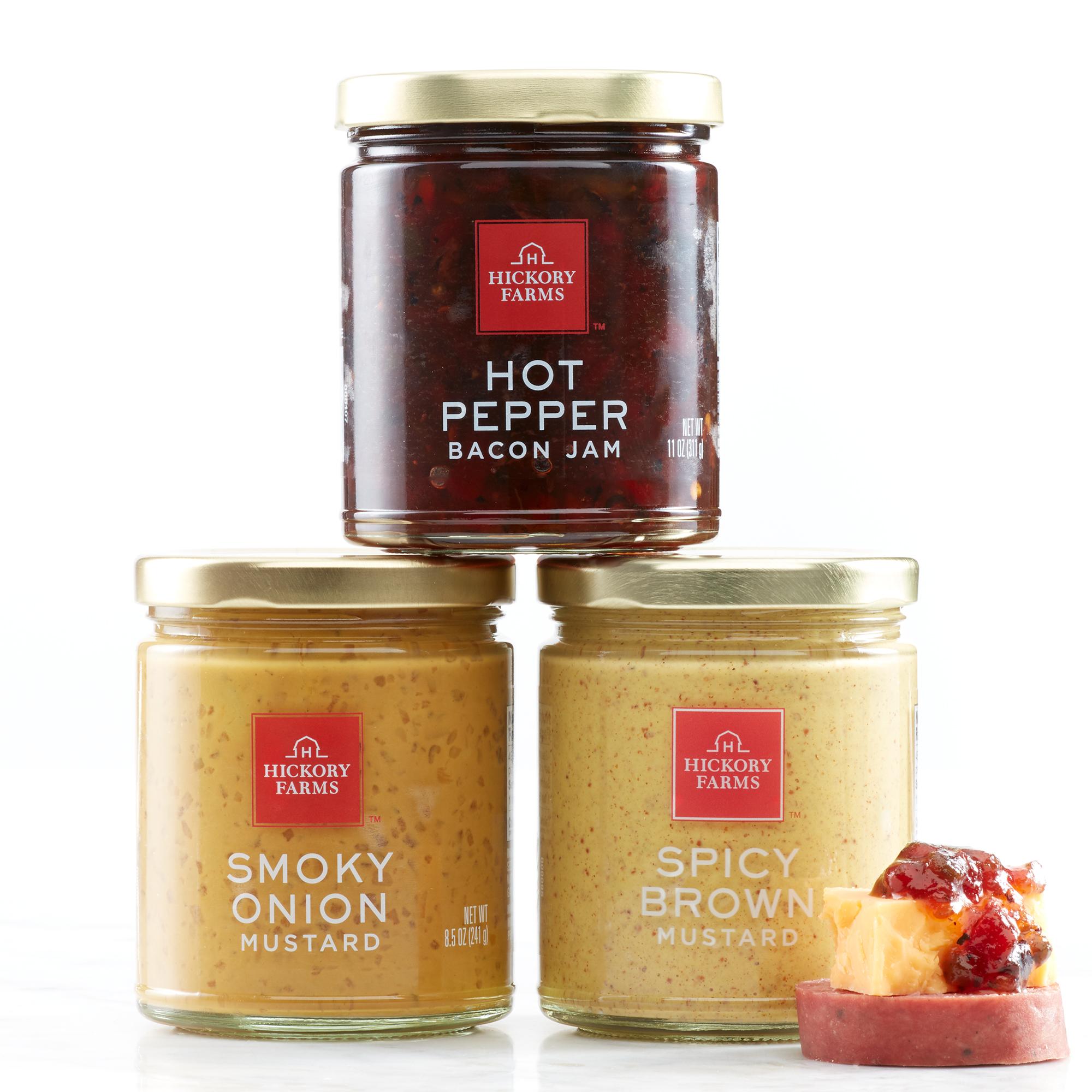 HoneyGold Ham & Gourmet Condiment Set