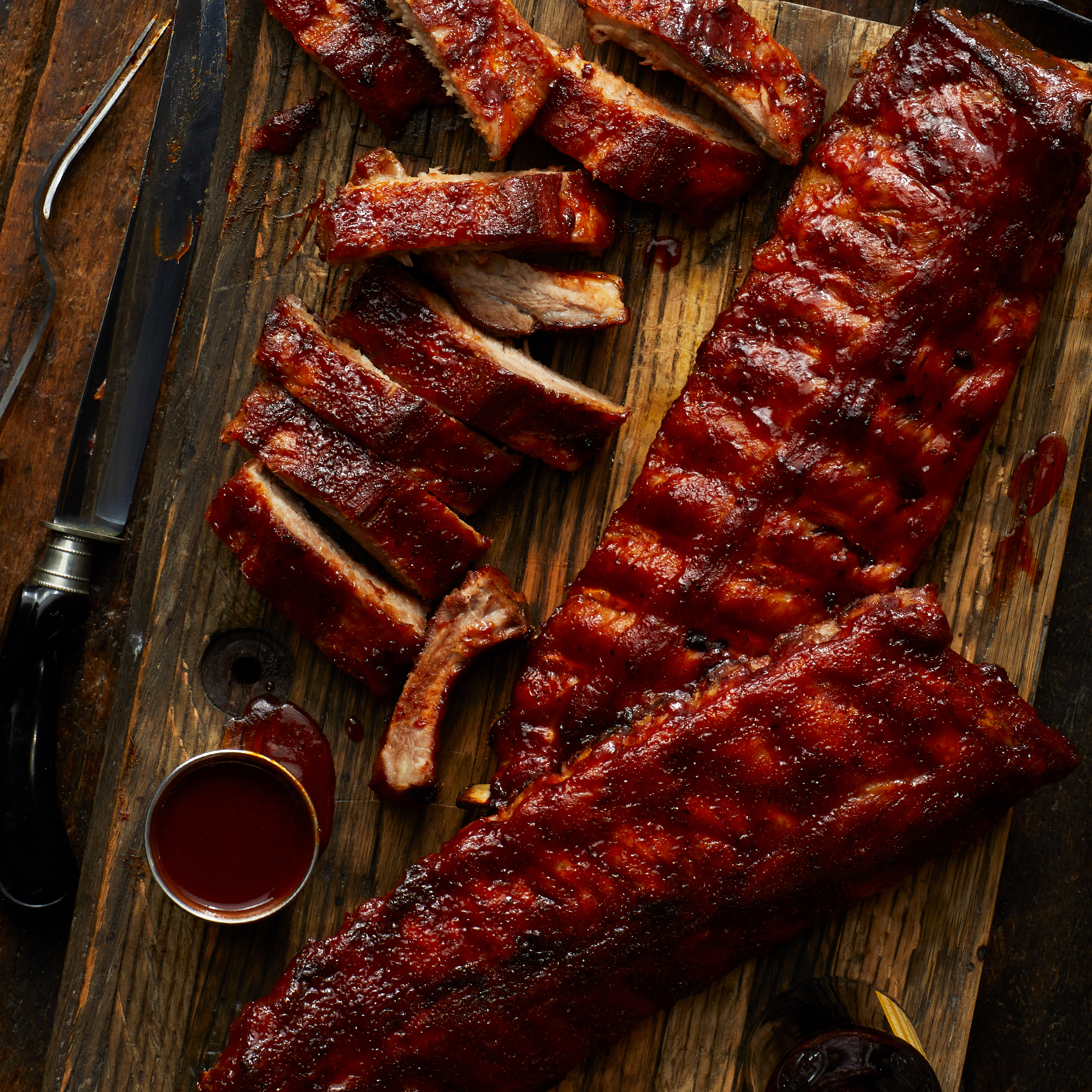 Meaty, tender, and delicious premium pork ribs.