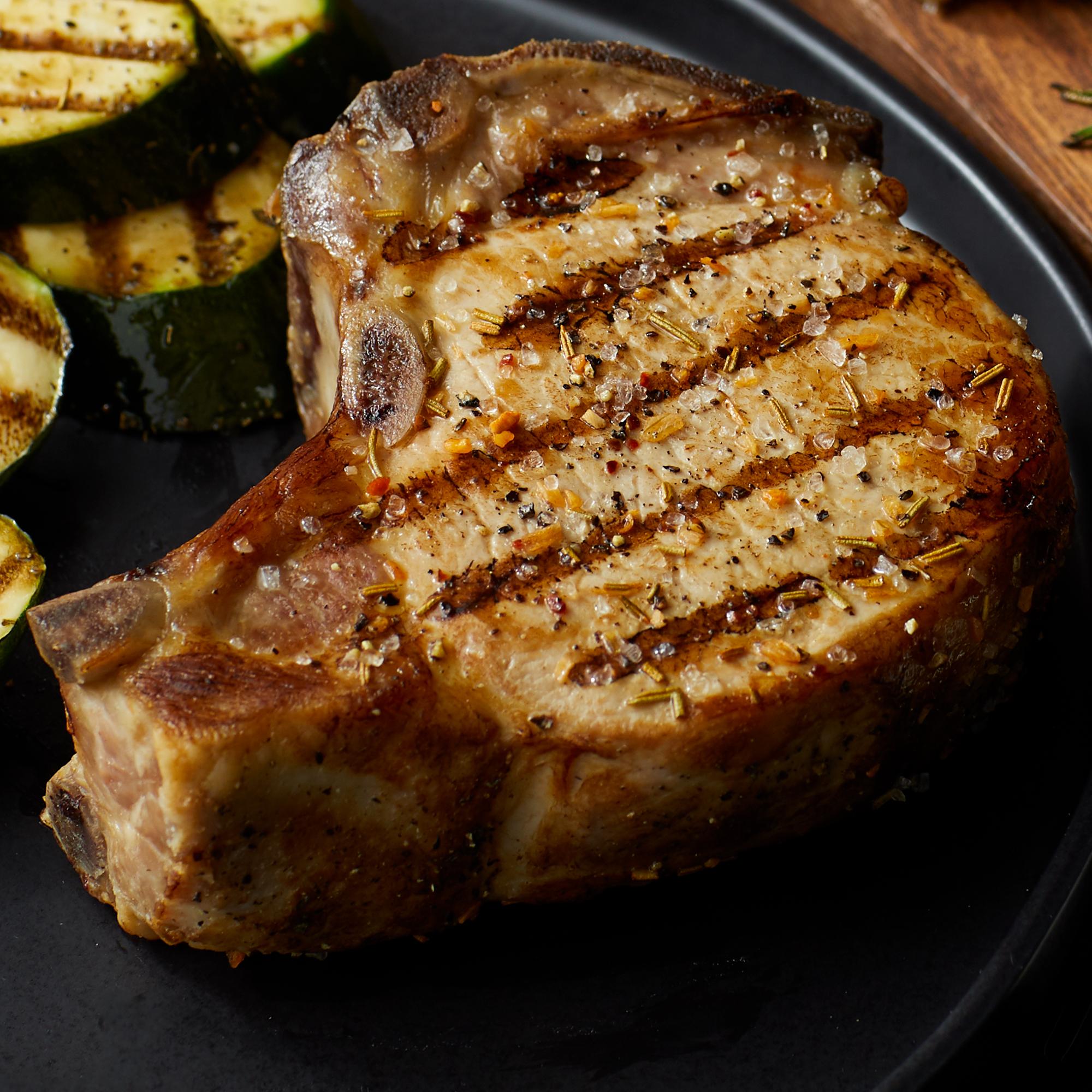 (4) Duroc 12 oz. Dry-Aged Pork Chops