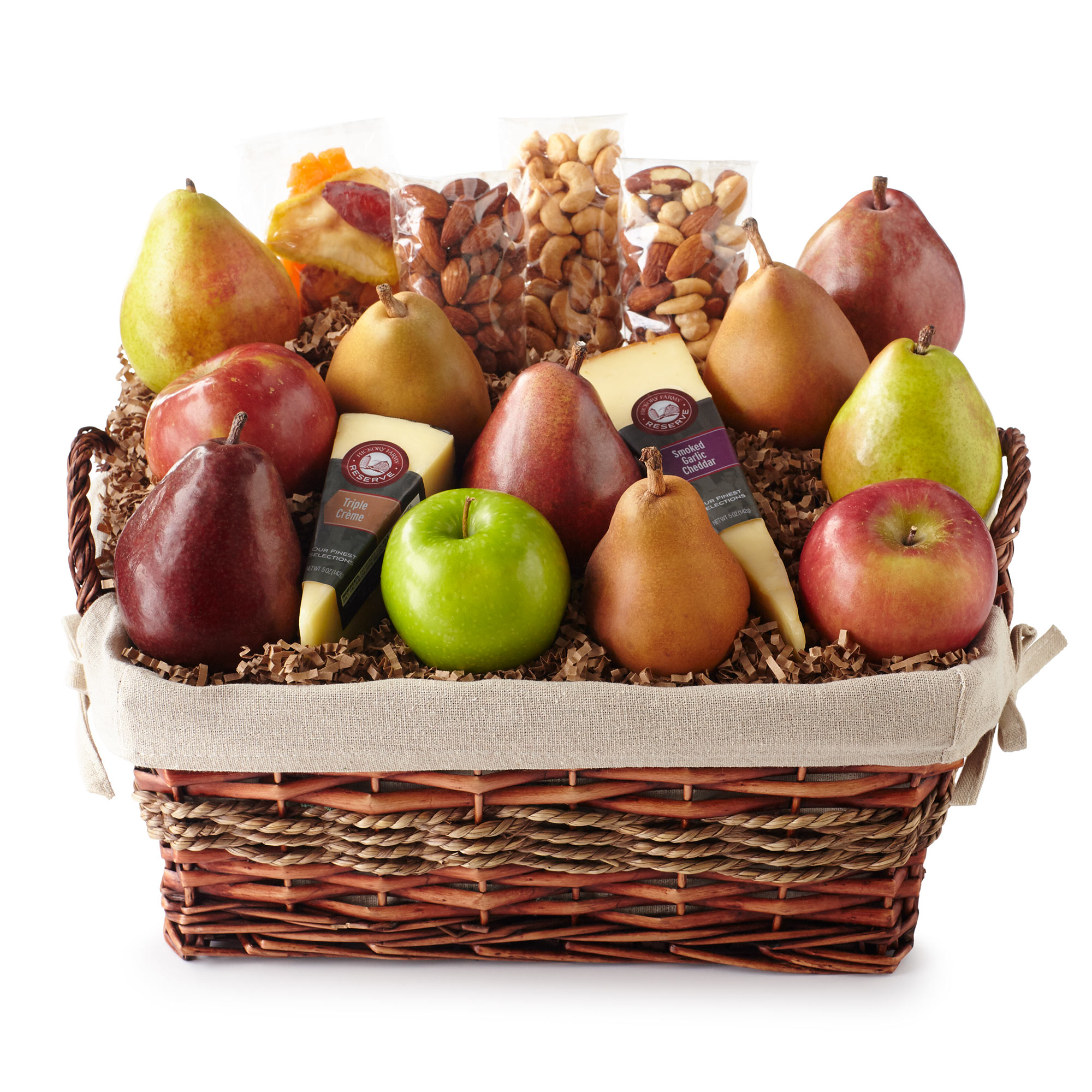 Fruit gift baskets hickory farms hickory farms reserve fresh from the farm basket negle Gallery