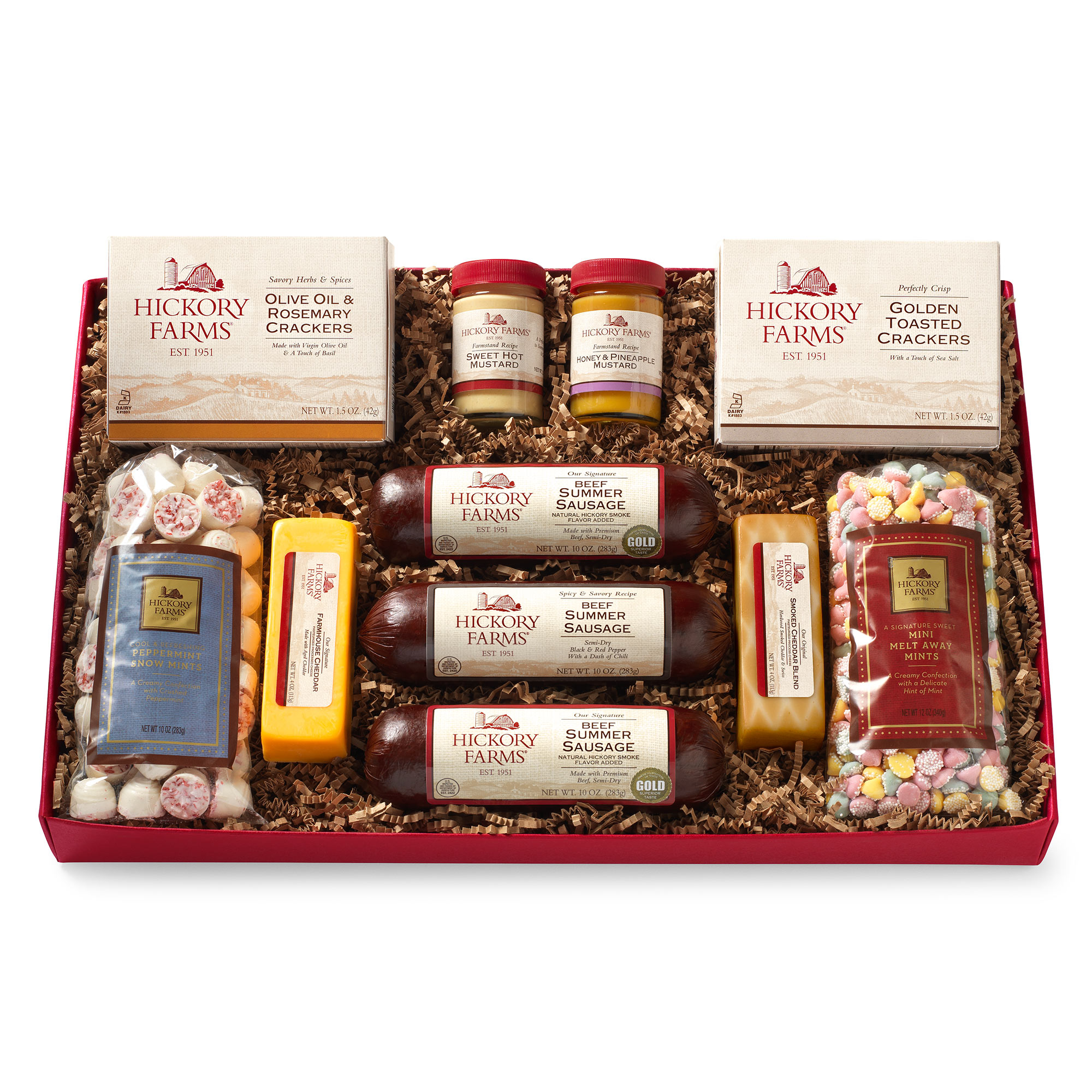 Hickory Farms Meat Amp Sweet Gift Box Hickory Farms