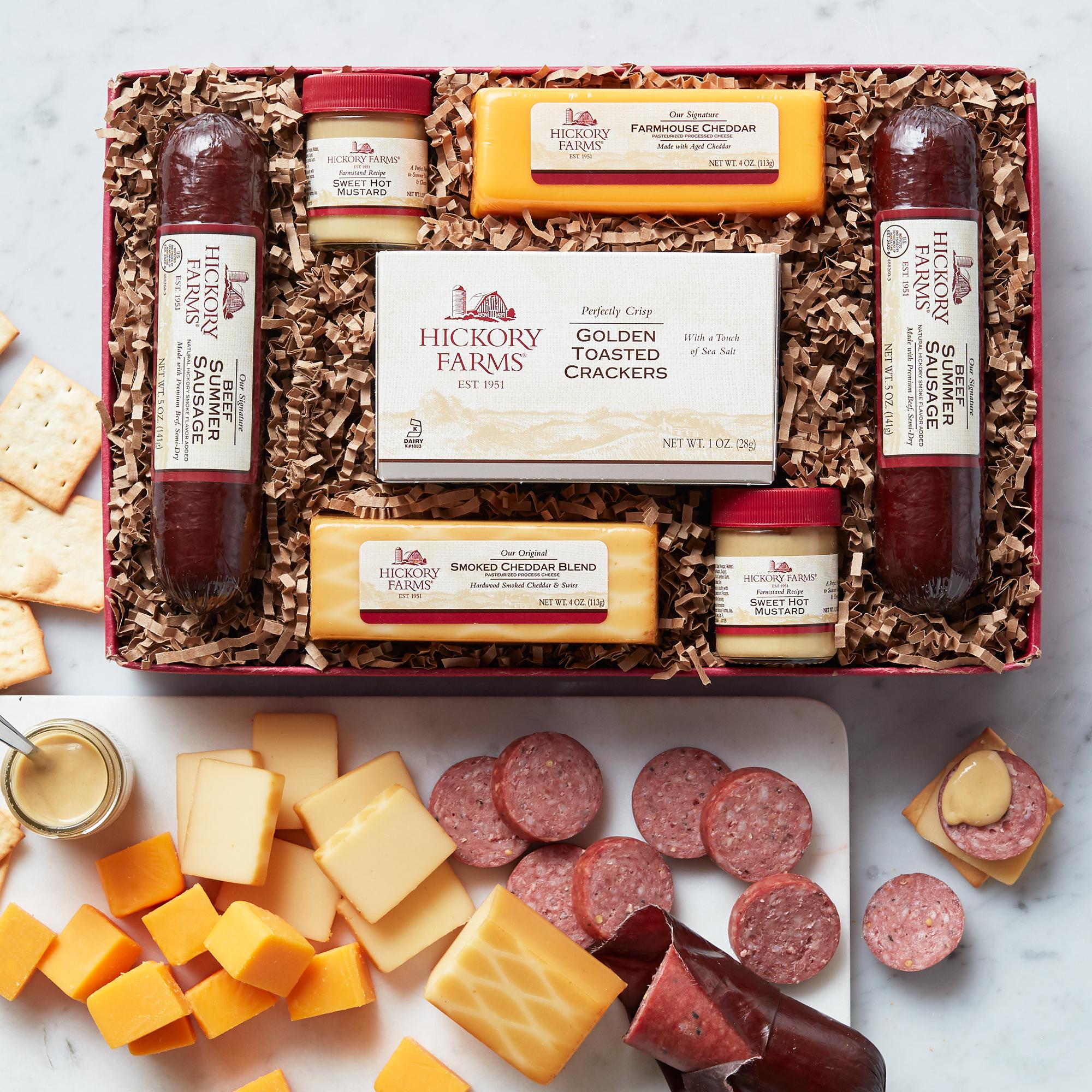 Christmas Sausage And Cheese Gifts